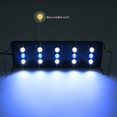 Aquarium éclairage LED Lampe Blanc/Bleu +2 Support de Aquarium Poisson 35-115CM