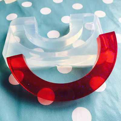 SILICONE STATEMENT NECKLACE MOLD - Arc Resin Jewellery Mould Jewelry Shape
