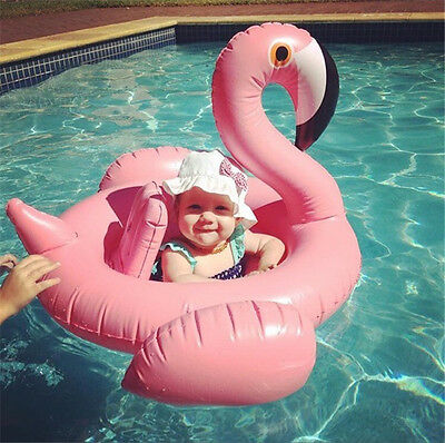 Flamingo Baby Kid Infant Inflatable Float Seat Water Toy Pool Swimming Ring