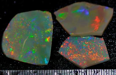 32.35 Carats Of Solid Gem Quality Lightning Ridge Rubbed Opal Parcel