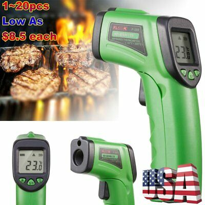 Lot 20X Infrared Temperature Gun Non-contact IR Laser LCD Digital Thermometer TO
