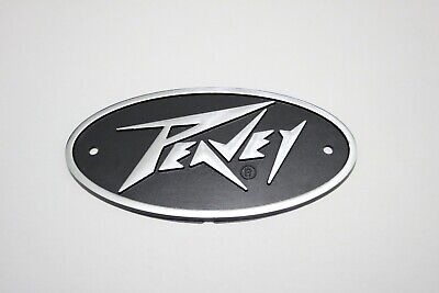 PEAVEY Plastic Logo Badge 145mm x 75mm - Oval Shape