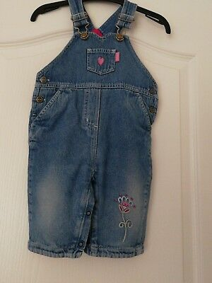 Baby Girls Dungarees From Next Age 6-9mths FREE UK DELIVERY