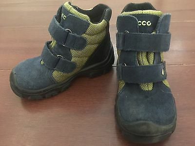 Toddler's Ecco Gore-Tex Snow Boots, Size 8 Us. Good Condition.
