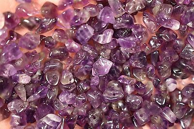 40g AMETHYST CHIP BEADS For Bracelet Or Necklace Drilled Approx 280 Pieces
