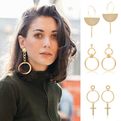 New Fashion Women Pendant Long Tassel Drop Dangle Earrings Party Jewelry Gifts