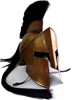 Spartan King Leonidas 300 Movie Roman Helmet Medieval Gift worrier costume CFA