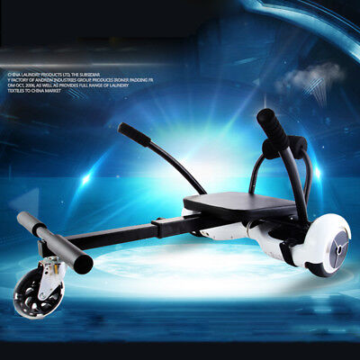 "Kart Car Adjustable Holder Seat for 6.5"" 8""10"" Self Balance Balancing Scooter"