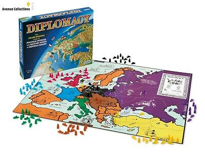 Strategic Diplomacy Board Game, for Ages 12+ new