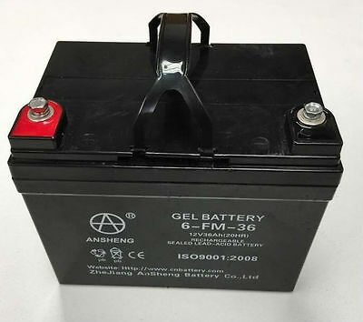 GEL BATTERY FOR GOLF BUGGIES. 12V/36AH.WINTER SPECIAL. JUST $119.00 free postage