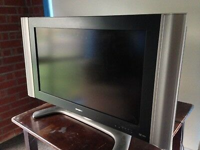 "Sharp 32"" LCD TV with remote"