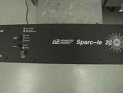ADVANCED ENERGY, AE,  SPARC-LE 20, DC,  Sputter,  ARC suppression, 3152244, MDX