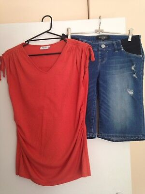 Maternity Clothes Jeans West 10-12