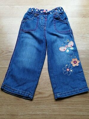 Baby Girls Jeans Age 9-12mths FREE UK DELIVERY