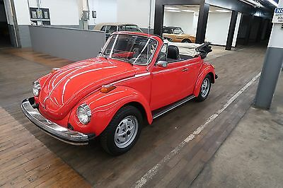 1977 Volkswagen Beetle - Classic Super Beetle Convertible This VW Bug is a great turn key car that embodies the cool and quirky vibe