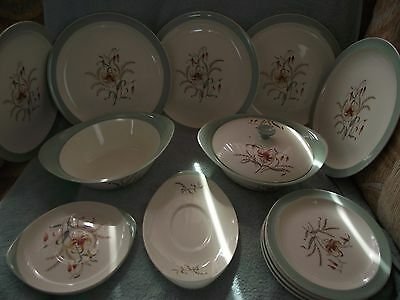 Wedgwood - `Tiger Lily` Pattern - Table Items - c1950`s-60`s