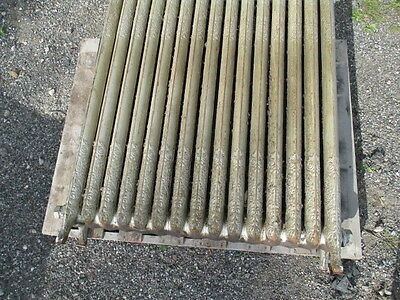 American Radiator Company 15 section antique cast iron radiator, ornate