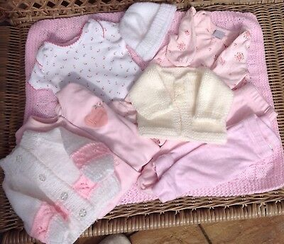 New And Used Premature Baby Bundle For Girl