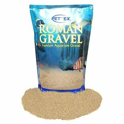 Pettex Roman Gravel Aquatic Roman Gravel, 2 Kg, Speckled Sand
