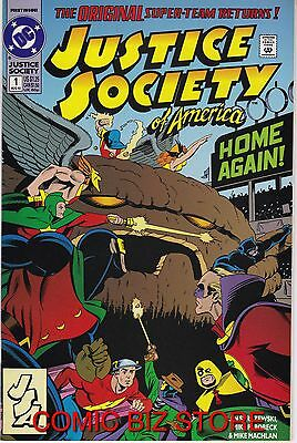 Justice Society Of America #1 1St Appearance Of Jessie Quick (1992) Dc Comics
