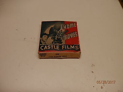 Castle Films 1955 News Parade 8mm bw silent