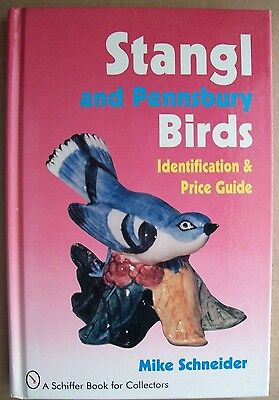 Vintage Stangl Pottery Birds & Pennsbury Birds Price Guide Collector's Book