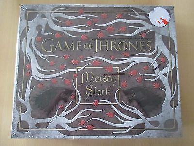 coffret DELUXE de papeterie GAME OF THRONES MAISON STARK NEUF HBO