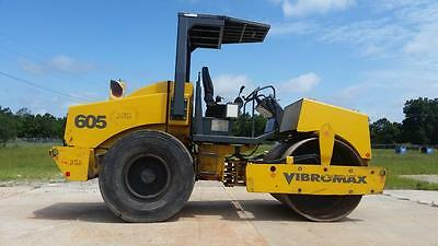 Vibromax 605 Roller  W/ F&r Sprayers - Low Hours - Finance Available...!!!