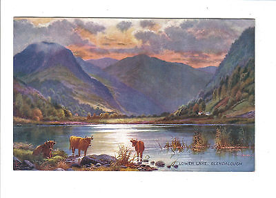 Vintage Tucks Postcard.Lower Lake,Glendalough.c1907