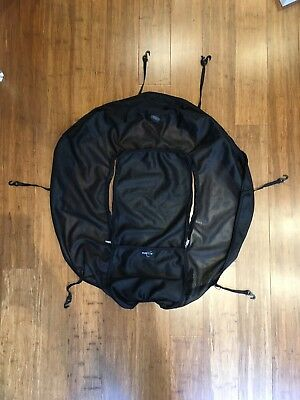 outlook shade a babe deluxe sun / WIND AND INSECT COVER. BLACK
