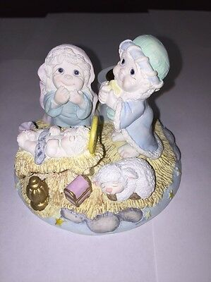 Nativity Scene Dreamsicles Cherub Nativity Scene Candle Holder 01460571 MIB