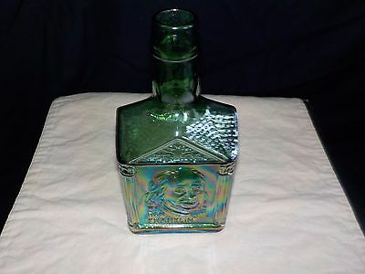 Wheaton Green Ben Franklin Glass Bottle