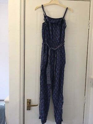 girls monsoon jumpsuit aged 8 years