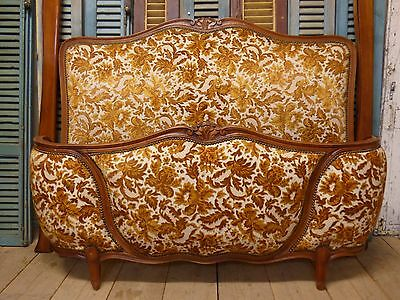 Vintage French Double Bed - fd86