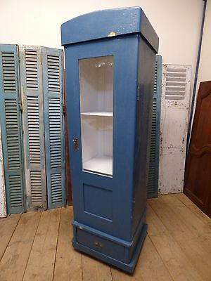 Vintage French Cupboard / Hall Cupboard / Small Armoire / Display