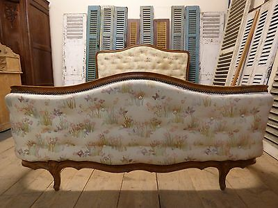 Button Back Vintage French King Size Bed - fd127
