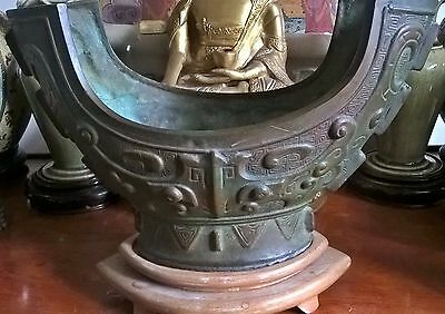 large chinese bronze