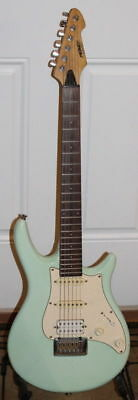 Baby Blue Peavey Impact Firenza Electric Guitar with Gig bag - USA