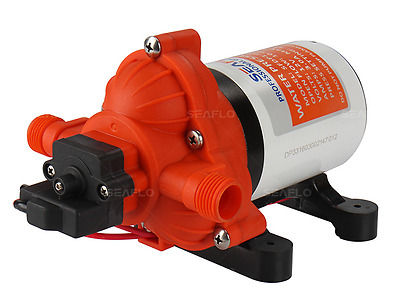 RV CAMPER AUTOMATIC DEMAND WATER PUMP 12V 2.8GPM Replaces SHURFLO 2088-422-444