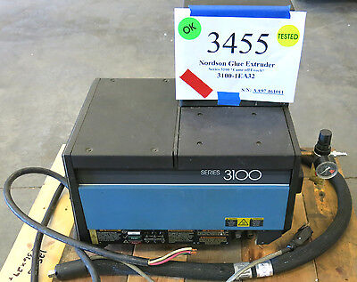 Nordson Series 3100 Hot Glue Melter - Model 3100-1EA32 SN: AA97J61011