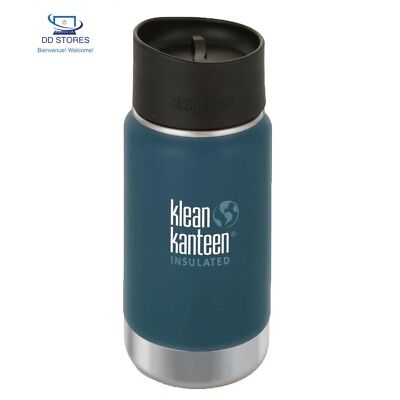 Klean Kanteen Wide Vacuum Insulated Bottle 355Ml (Neptune Blue)