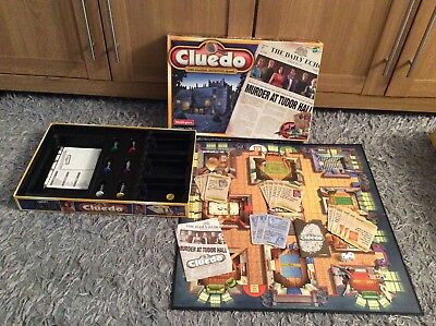 Great Cluedo Board Game By Waddingtons 2000- 100% Complete,