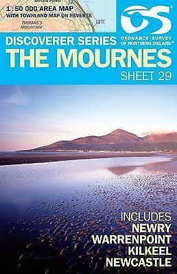 Mournes Map - New - Northern Ireland - Ordnance Survey 29