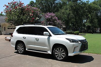 2016 Lexus LX 570 One Owner Perfect Carfax Mark Levinson Sound Lux Pkg Rear Seat Entertainment