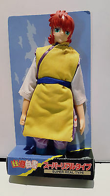 "Yu Yu Hakusho KURAMA Super Real Type Doll 7"" Tomy Yujin READ DESCRIPTION"