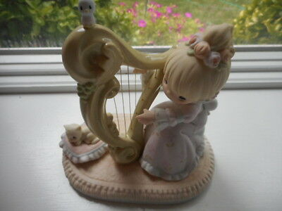 "New Box Precious Moments ""Even the Heaven's shall praise him"" by Enesco figurine"