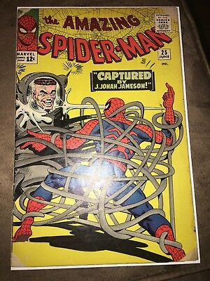 AMAZING SPIDER-MAN #25 1st MARY JANE WATSON Appearance Norman Osborn KEY BOOK