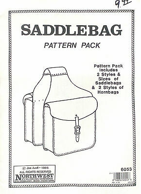 Saddle Bag Pattern Pack - Tandy Leather