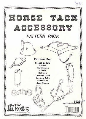 Horse Tack Accessory Pattern Pack - Leather Factory