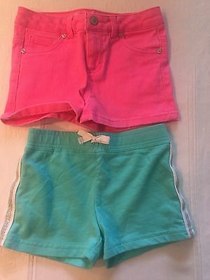 Girl's CARTERS & HARTSTRINGS Shorts in EUC...size 5 (Lot of 2)